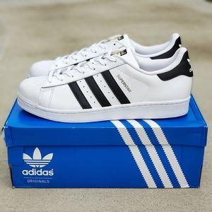 Adidas Originals Superstar Classic Men White Shoes